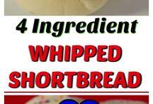 Whipped Short Bread