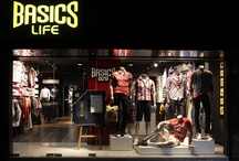 Basics Life Spaces / A shopping experience for MEN !!