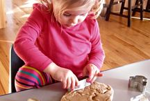 Kid friendly recipes / Recipes that would be great to use with kids, with notes on how you might use them.    Simple recipes are a great place to start.  Sensory recipes have special opportunities to touch and taste.  Project recipes are more involved and could serve as a basis for more extended learning.