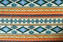 Aztec / We love the richness of Aztec prints in our western wear!  Bold, graphic and full of color.