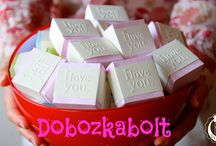 Dobozkabolt-filmek / Dobozkabolt termékei videón