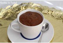 Recetas con chocolate.