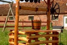 Mobilier Exterior/ Garden Furniture / Diferite modele...de la Mese si Banci la Balansoare si Pergole