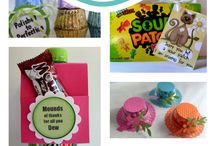 cANDY IDEAS FOR SMALL GIFTS AND FAVORS