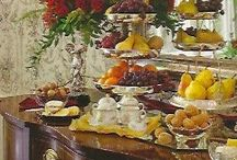 Buffet Ideas / Fabulous ways to style your food for buffets. Want more great ideas? Sign up for my Newsletter at Morestylethancash.com