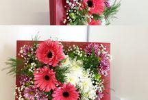 Картины из цветов. Pictures of flowers. / Мой сайт olinbuket.ru Работы, которые мы делаем в моем магазине