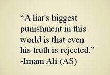 Imam Ali (as) quotes <3
