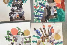 Art club.  Vantaa. / Kids art.
