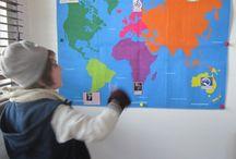 Paul Ward's World - Curs de vară / Copiii s-au distrat de minune în călătoria virtuală în jurul lumii și au descoperit țările cu mare entuziasm!