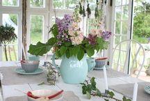 Haven / Haven er vores fristed følg med og få inspiration - romantisk haveindretning, blomster, haven, havehus,