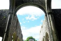 Twelfth Century Boyle Abbey  / An impressive and well preserved Cistercian Monastery which was founded in the 12th century under the patronage of the local ruling family, the MacDermotts
