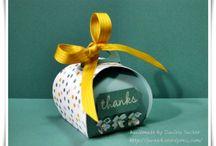 Gift boxes/fancy envelopes etc