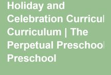 Holiday and Celebration Curriculum