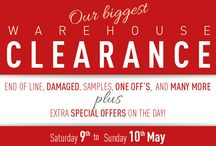 Warehouse Clearance / Puji's biggest Warehouse Clearance Sale 2015.