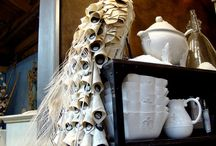 Book sculptures and folded book art