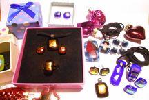 Fusing inspirációk / Fusing ékszerek és kreativ üveg tárgyak