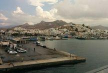 Naxos Island Greece / Naxos port