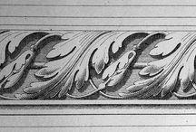 Greche stencil