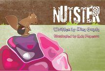 Nutster / I illustrated this book written by Hina Gupta    http://www.amazon.com/Nutster-Hina-Gupta/dp/1493788361/ref=sr_1_1?ie=UTF8&qid=1398157682&sr=8-1&keywords=nutster