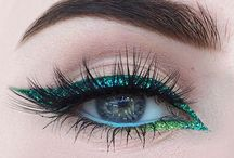 Makeup - green