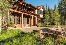 Phillips Ridge Compound / Rustic, residential lodge compound.