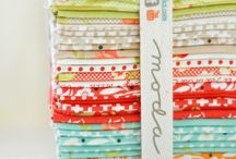 Fabric! / Lots of fabric eye candy / by Meadow Mist Designs
