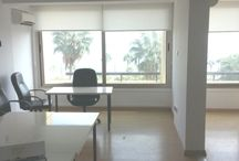 Code No. 7605 For rent office +/- 188m2 ,in Limassol / Code No. 7605 For rent office +/- 188m2 ,in Limassol, in commercial zone.The building was contructed using top quality materials in a contemporary design,with comfortable and fuctional rooms.It has easy access to main roads and all services and amenities a company might need.It features kitchenette,2wc,parking,reception,8 office units,recently renovated in excellent condition. It has distance 100m from the beach and the town center.  Code No.7605 Renting Price: €2500 negotiable