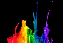 Color Therapy - Rainbow / I love all the colors of the rainbow together. This is a collection of gorgeous photos and other beautiful things that are rainbow colored or a mixture of those colors. / by Stephanie Lackey