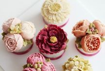 Buttercream flower