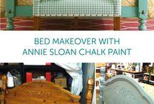Chalk Paint Bedroom