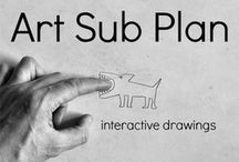 Sub Plans / Art Class / by Casie Duffy