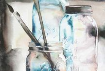 Art / Watercolor, painting,