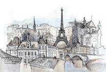 Art/Travel Journal Inspiration / by Shereene Barimah