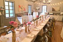 Bridal Shower For Real / Bridal Shower Brunch: Vintage, Rose, Gold, Florals