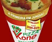 pizza  kone worldwite / a nova maneira de comer pizza