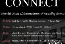 2.27.13 - The Music Business Network Presents... MUSIC CONNECT / Wednesday February 27, 2013, Music and Entertainment Industry professionals were invited to attend The Music Business Network's after-work meet-up & networking event (hosted at Lark Tavern - in Albany, NY - from 6-9pm). They came, chilled, drank, and connected with individuals who make up the future of the music industry.