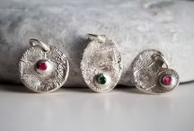 Buyable Pins - Fingerprint Keepsake Jewelry by Adorn Designs / Custom Fingerprint Jewelry (Rings, Bracelets, Necklaces) Sterling Silver and Birthstones. Gifts for New Mom, Wife, Mother, Grandmother, Grieving, Memorial.