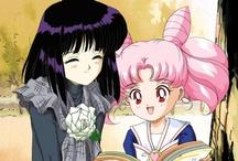 Hotaru and Chibiusa
