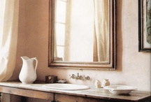 Beautiful Bathrooms / Stunning bathrooms with unique decor and desing.  From colorful and bright to soothing and calm.