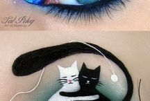 malovaný makeup