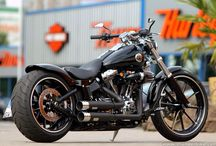 Motorky harley davidson