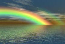 arc en ciel / couleur