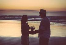 Ensaio pré casamento / Ensaio pré casamento (pré wedding) na praia.