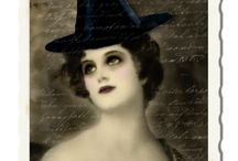 Vintage Witches / Pictures and illustrations dedicated to Witches
