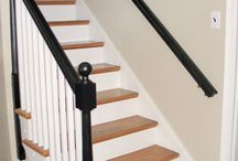 Banister ideas / by Sarah Shaw