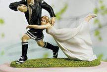 Mariage thème rugby