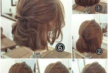Penteados cabelo curto