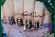 Nail Art / Decoración de Uñas / arte de uñas, Nail Art, Unghie,