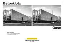 Saison 12/13: Imagekampagne / Diese Motive sind Teil einer Imagekampagne der Deutschen Oper Berlin für die Spielzeit 12/13! #deutscheoperberlin / www.deutscheoperberlin.de