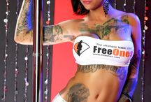Sexy Girl 's with Tattoos / Very hot Girls and beautiful Tattoos Inspiration !  Hungrie ; ) Click for more at FreeOnes ; biggest resource to find porn stars and famous hot babes. / by FreeOnes